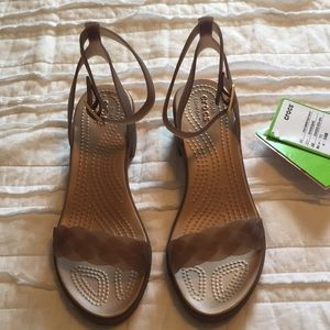 792d0c6521c CROCS Shoes - Crocs Isabella block heel